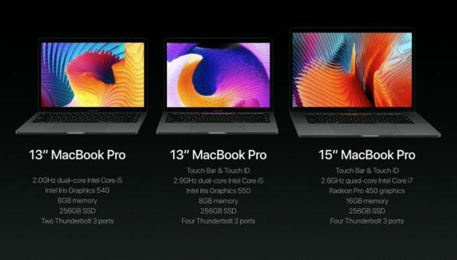 Nuovi MacBook Pro, con Touch Bar. Basta un tocco per migliorare il tuo lavoro