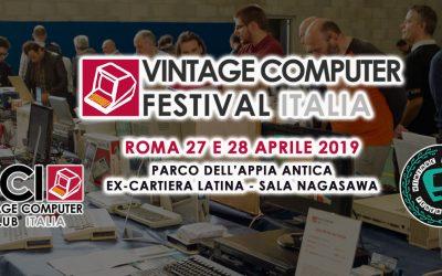 MMN al Vintage Computer Festival Italia 2019, Roma 28 e 29 Aprile