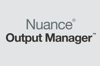 Xerox - Nuance Output Manager